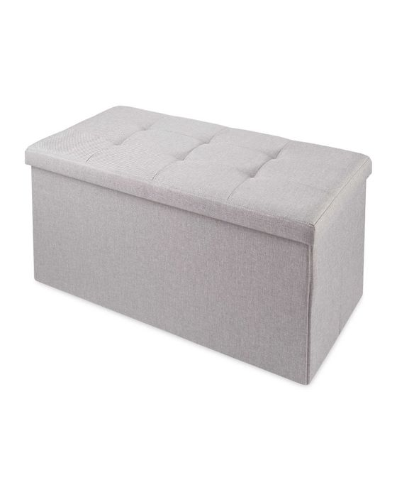 Large Collapsible Storage Ottoman on SALE from 12 MARCH