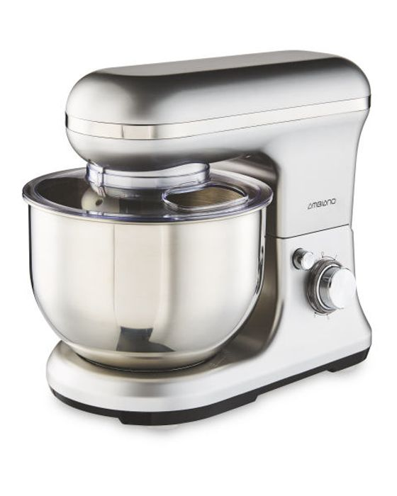 Grey Silk Matt or White Classic Food Mixer on Sale 15 March