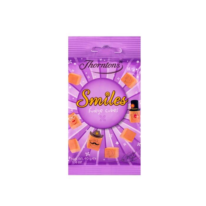 Smiles Fudge Cubes Bag (40g) 3 for £1