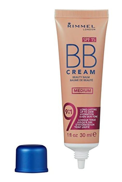 Rimmel London BB Cream, 9-in-1 Lightweight Formula with Brightening