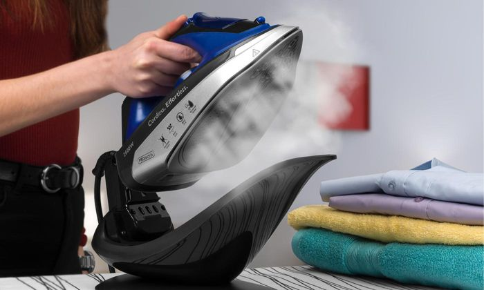GREAT VALUE Prolectrix Two-in-One Cordless Steam Iron