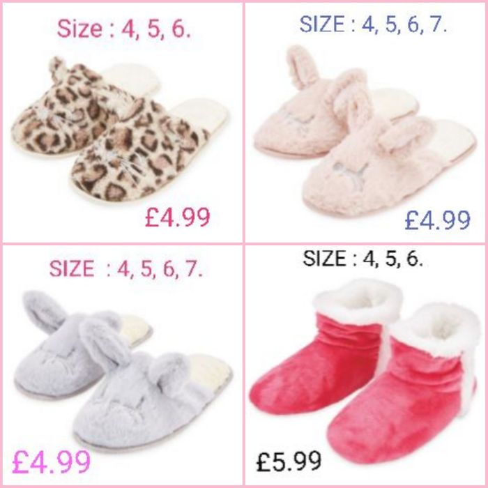 Bargain Ladies' Mules & Snuggle Boots at Aldi