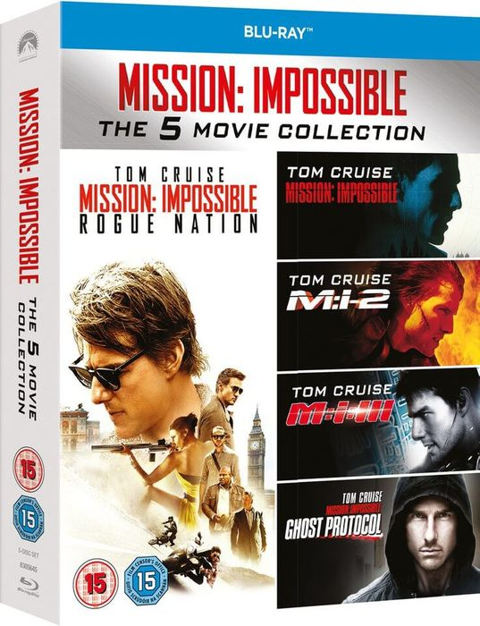 Mission Impossible - 1-5 Boxset Blu-Ray