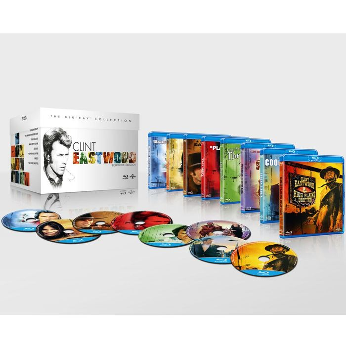 The Clint Eastwood Boxset Blu-Ray