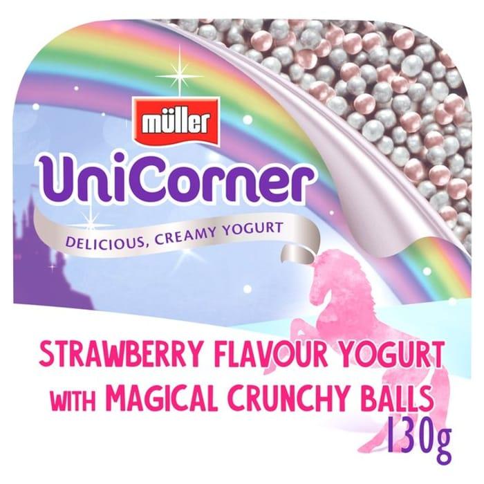 Muller Corner Unicorner 130g (10 for £3 or 68p Each)