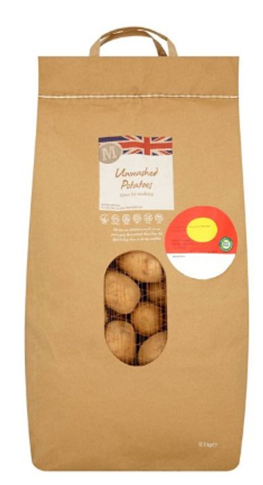 Morrisons Unwashed Potatoes 12.5kg