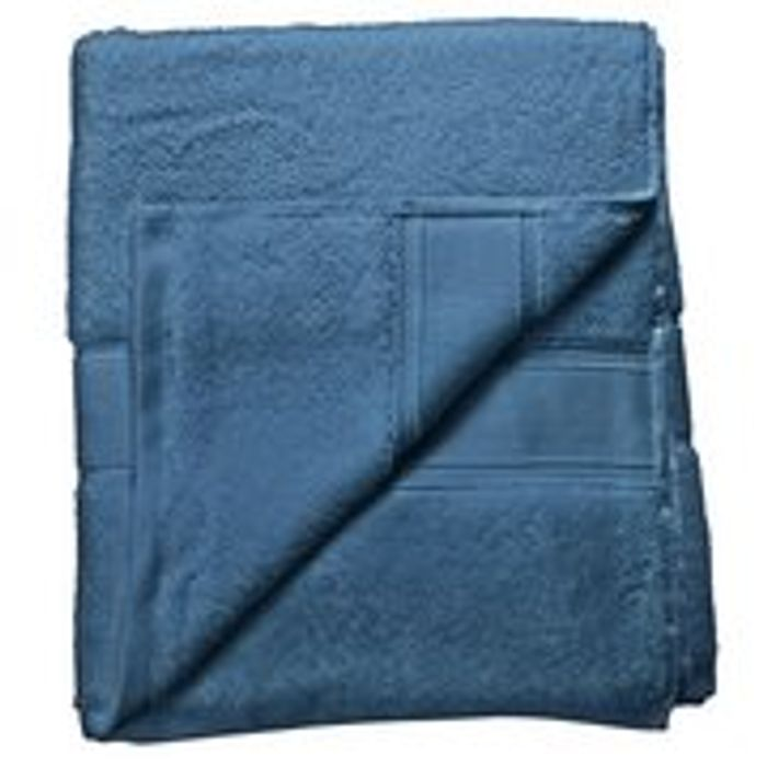 Argos Home Super Soft Bath Sheet - Denim Blue