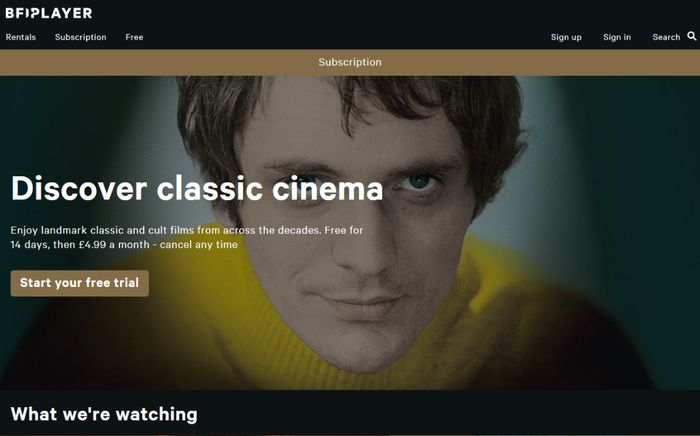 Enjoy Landmark Classic and Cult Films from across the Decades. Free for 14 Days