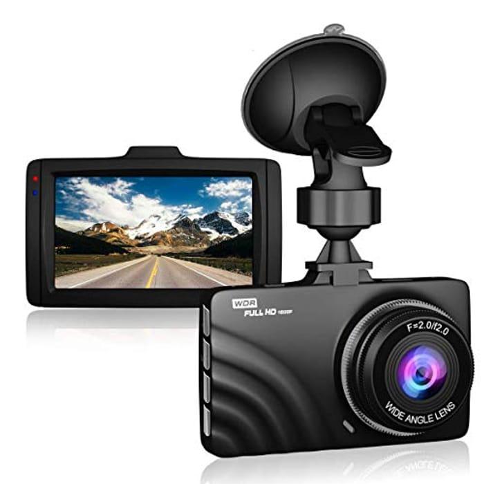 Price Drop! Claoner Dash Cam 1080P Full HD Dashcam