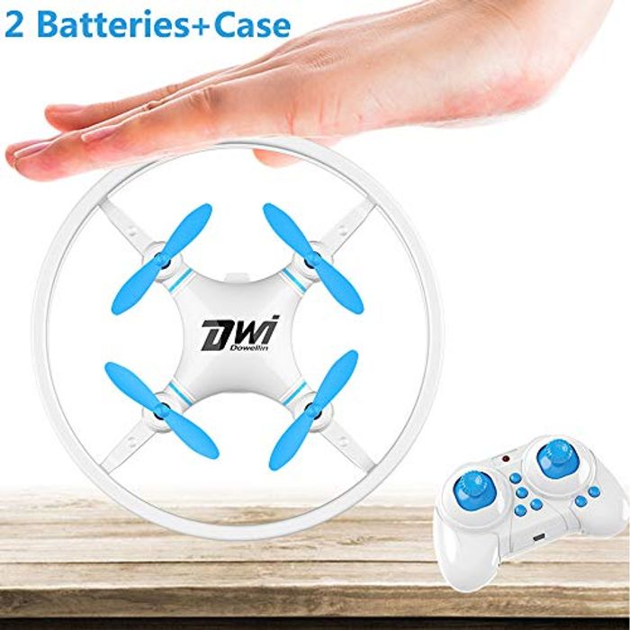 Price Drop! Dwi Dowellin Mini Drone Toy for Beginners (Blue & Black Colors)