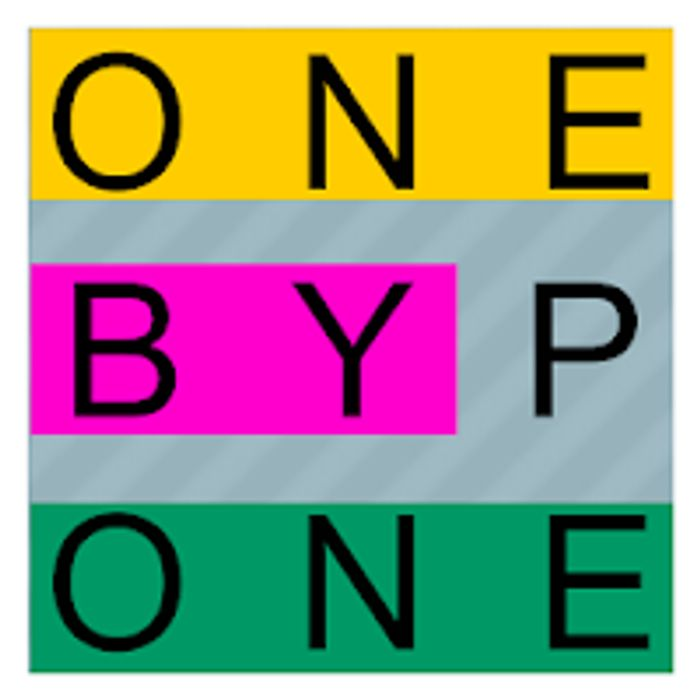 One by One - Multilingual Word Search on Google Play (Was £1.79)