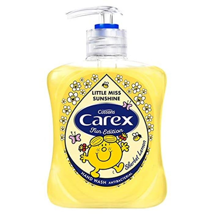 Carex Mr Men Sherbet Lemon Handwash, 1 X 250ml