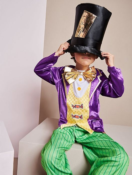 Roald Dahl Willy Wonka Fancy Dress Costume