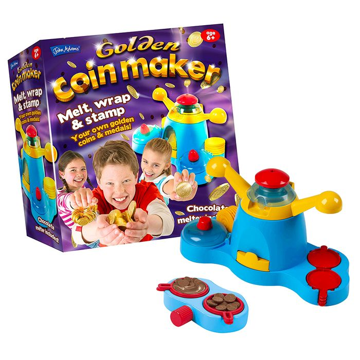 Yummy Chocolate Golden Coin Maker!