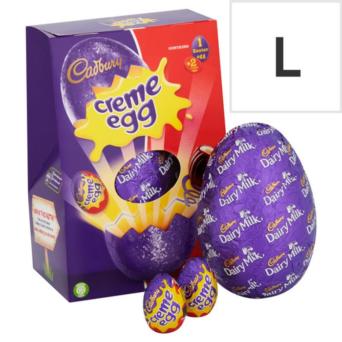 Large Easter Eggs - HALF PRICE!