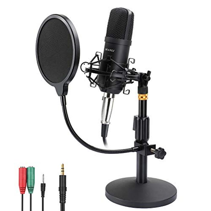Deal Stack - Black Microphone Kit - Cheapest Ever