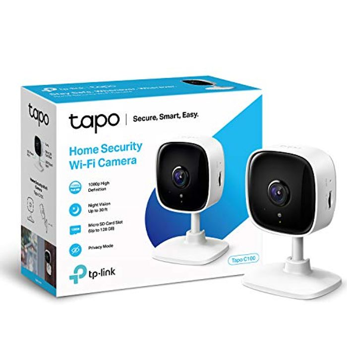 TP-Link Tapo C100 1080P Indoor Security Wifi Camera with Night Vision