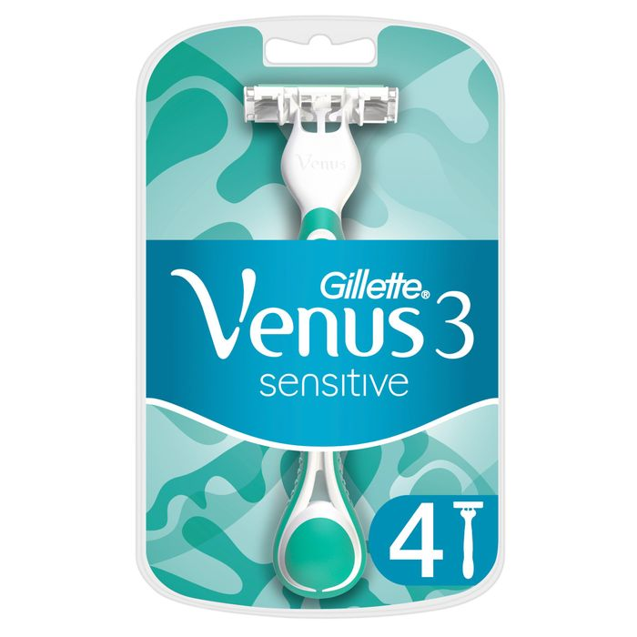 Gillette Venus 3 Sensitive Razor Blades 4 Pack