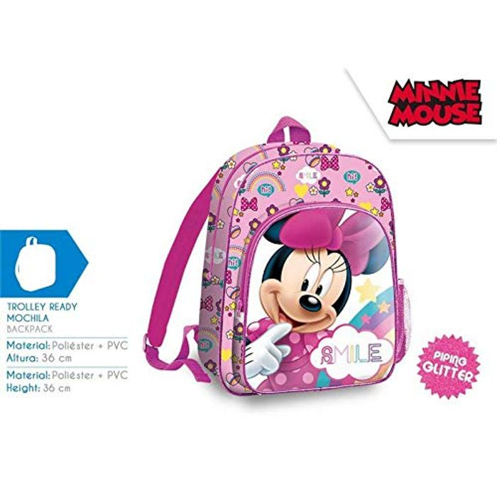 Best Ever Price! Minnie Mouse 36 Cm Backpack