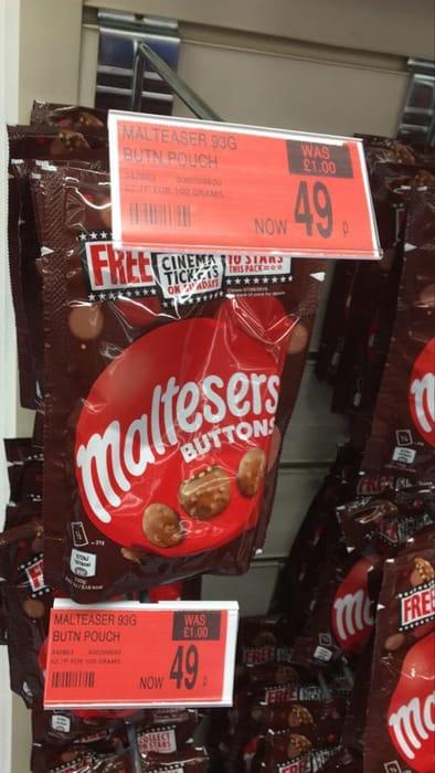 Malteser 93g Buttons Pouch