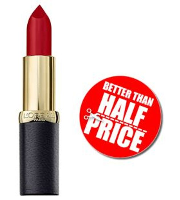 L'Oreal Color Riche Matte Addiction Lipstick - 349 PARIS CHERRY