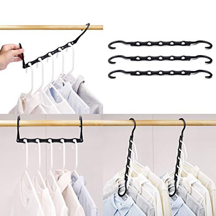10 Pcs Magic Hangers - Make The Most of Your Space