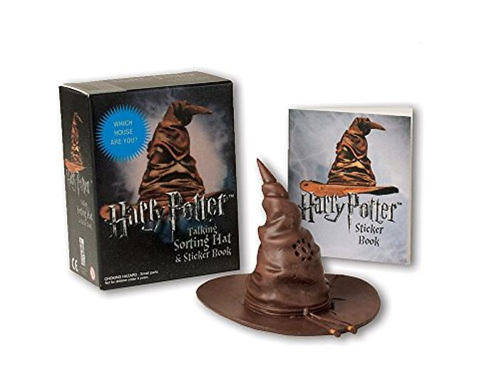Bargain! Harry Potter Talking Sorting Hat and Sticker Book at Amazon