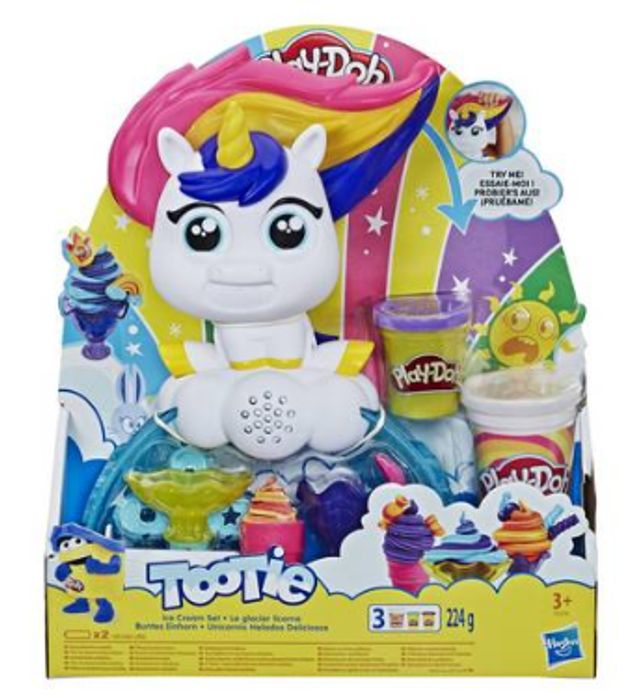 Play-Doh Tootie the Unicorn Ice Cream Set at Argos Down From £20 to £14