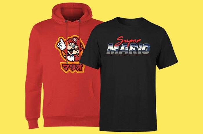 Mega Bundle! Mario Hoody & T-Shirt Only £19.99!