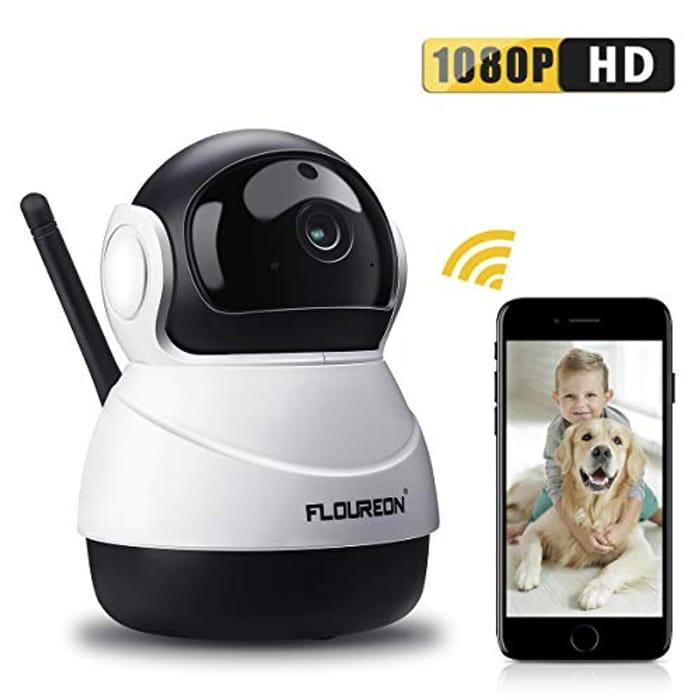 50% Off WiFi IP Camera 1080P Indoor Baby/Elder/Pet