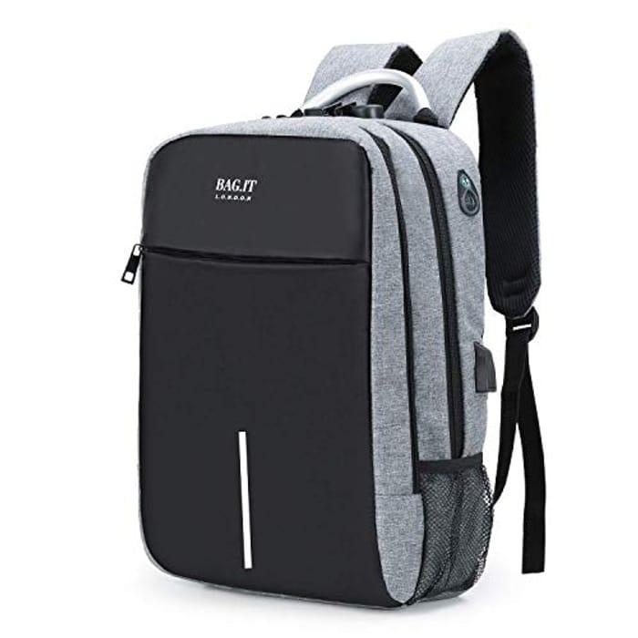 BAG.IT Laptop Backpack (FLAT off )