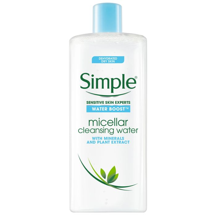 Simple Water Boost Micellar Cleansing Water 400Ml Half Price £3.50 @Tesco
