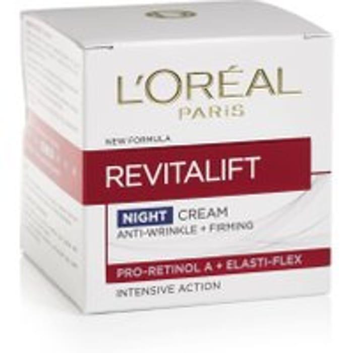 LOral Paris Revitalift Anti Wrinkle Night Cream 50ml
