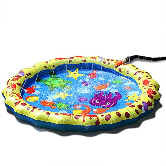 Price Drop! Kids Sprinkle and Splash Pad Play Mat