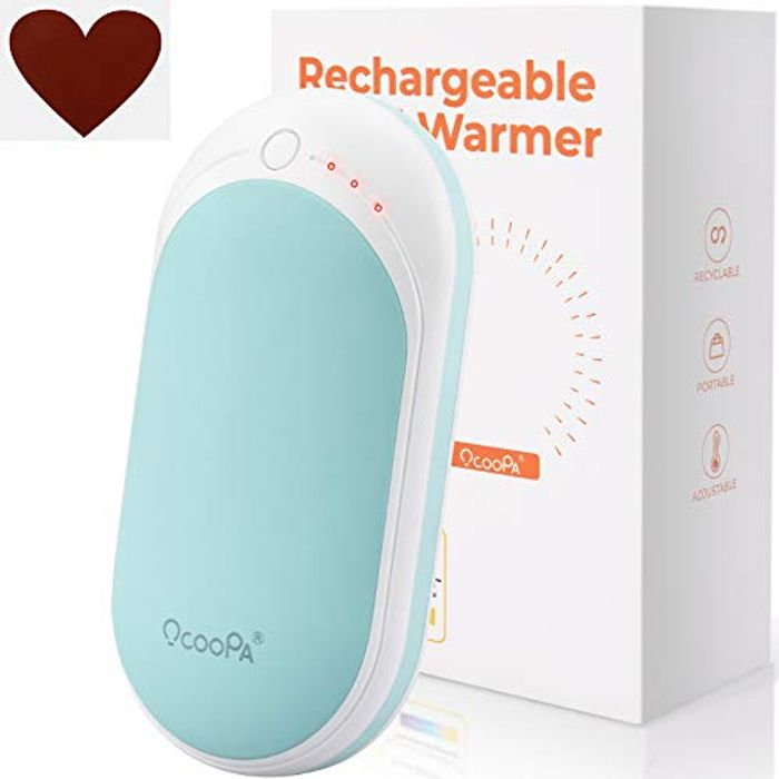 Deal Stack - Rechargeable Hand Warmer - Cheapest Ever