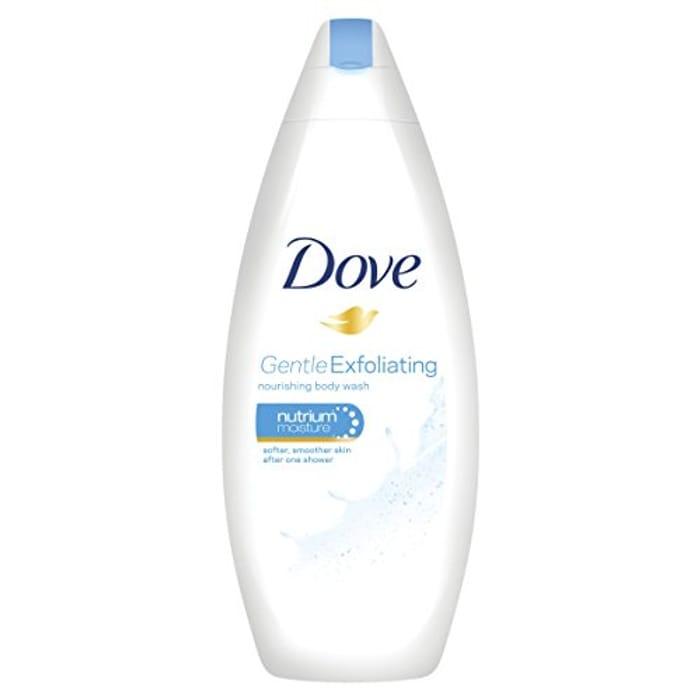 Dove Gentle Exfoliating Body Wash 250ml