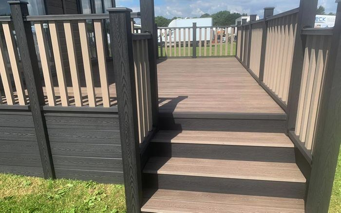 Free Bumper BOX OF Decking SAMPLES