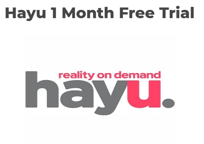 Hayu 1 Month Free Trial