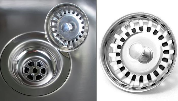 1 or 2 Kitchen Sink Strainers