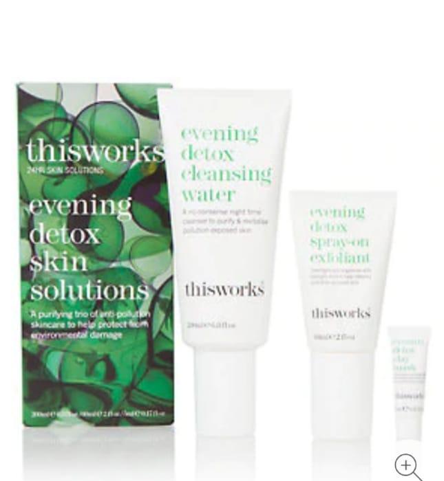 This Works - Evening Detox Skin Solution Kit