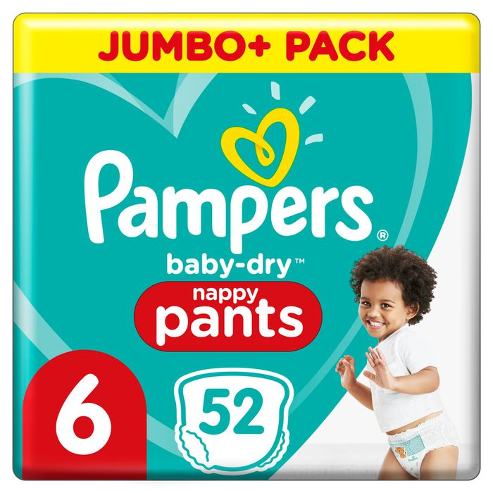 GLITCH! Pampers Nappies - 2 Packs for £6!