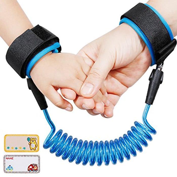 Anti-Lost Wrist Flexible Child Walking Strap Adjustable Child Safety Strap
