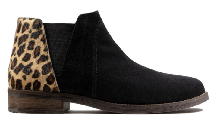 Leopard Demi Beat Boots Only £62.3