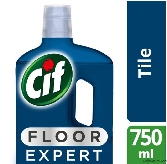 Cif Floor Expert Tile Cleaner 750ml Only £0.5