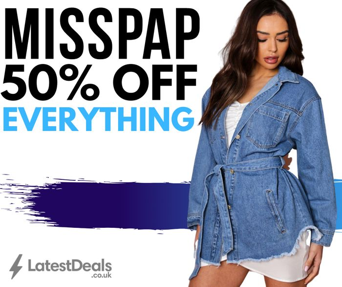 50% off Everything at MISSPAP! Cheap Clothes!