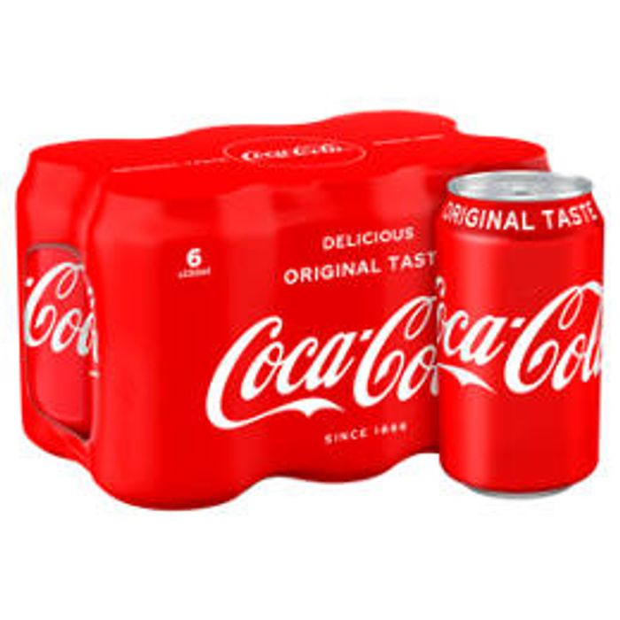 Coca-Cola Classic Cans 6 x 330ml