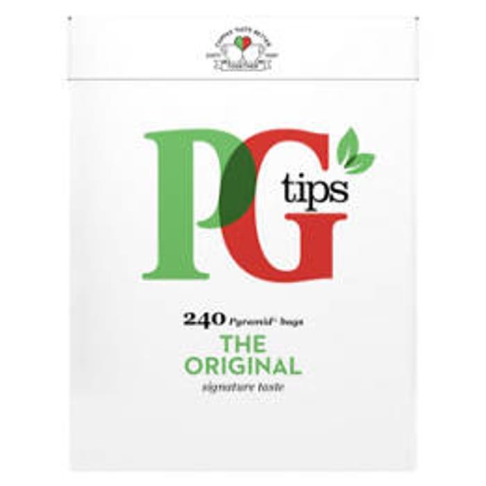PG Tips Pyramid 240 Tea Bags