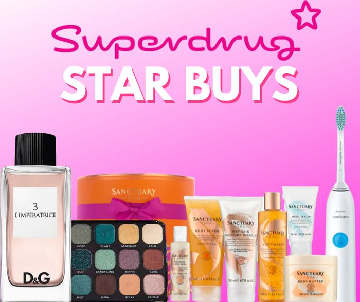 Superdrug Weekly Star Buys + Mother's Day Gifts!