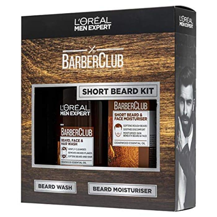 L'Oreal Paris Men's Expert Short Hair Barberclub Collection 2-Piece Gift Set