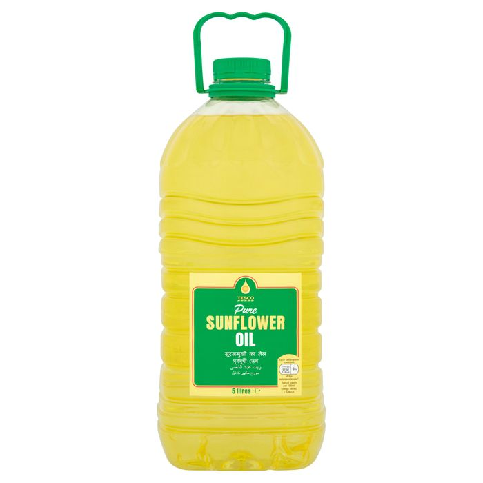 Tesco Pure Sunflower Oil 5 Litre Pet
